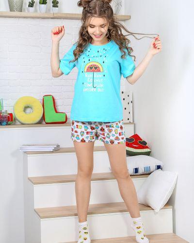 Пижама с рисунком виотекс