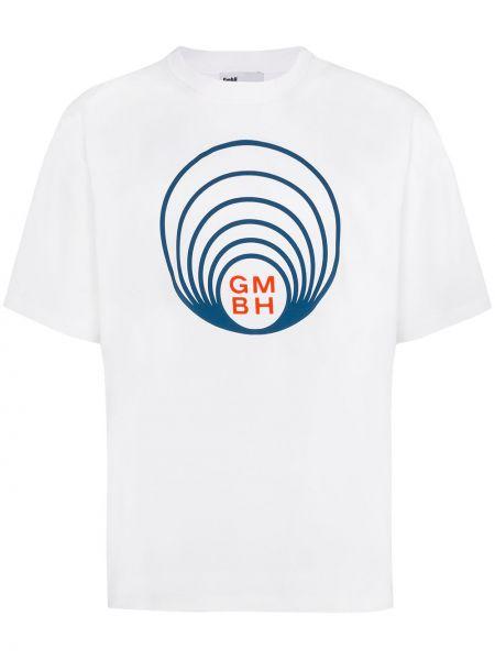 Ватная хлопковая белая рубашка Gmbh