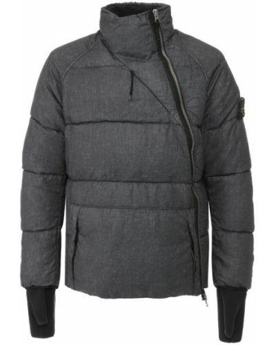 Куртка с воротником-стойкой пуховая Stone Island