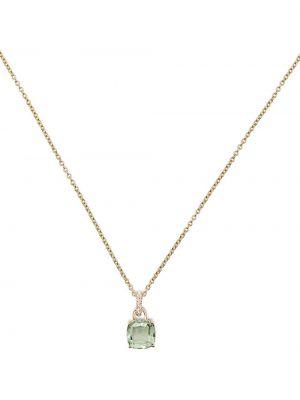 Fioletowy złoty naszyjnik z diamentem Kiki Mcdonough