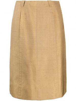 Шелковая юбка Emilio Pucci Pre-owned