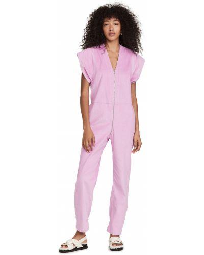 Комбинезон с шортами - розовый Rachel Comey
