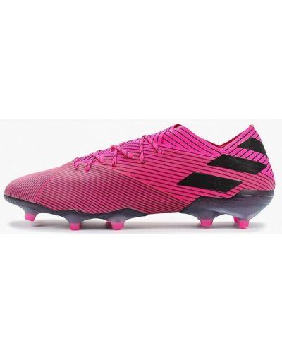 Бутсы розовый Adidas