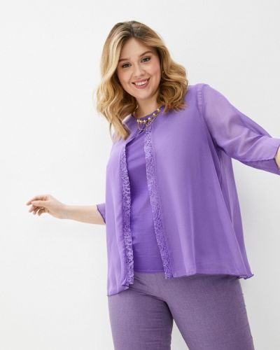 Фиолетовая блузка Prewoman