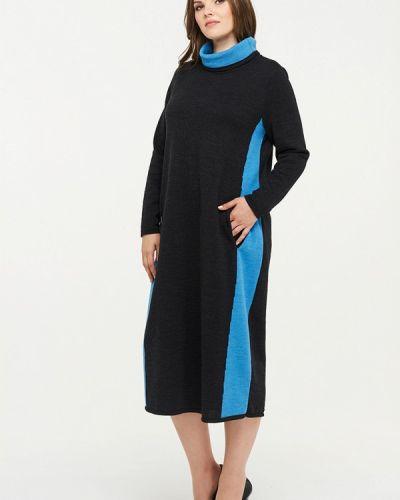 Вязаное платье осеннее трикотажное Vay