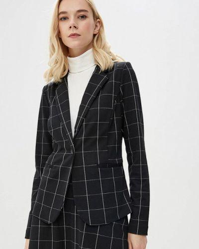 Черный пиджак осенний Ichi