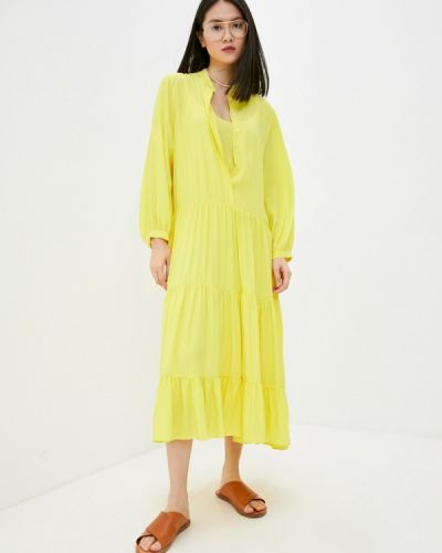 Повседневное желтое платье Beatrice.b