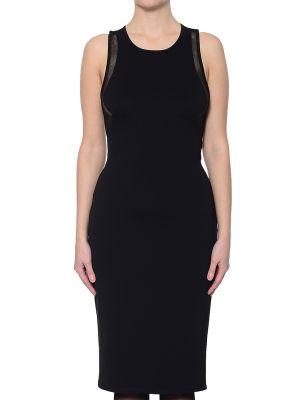 Платье из спандекса - черное Kendall + Kylie