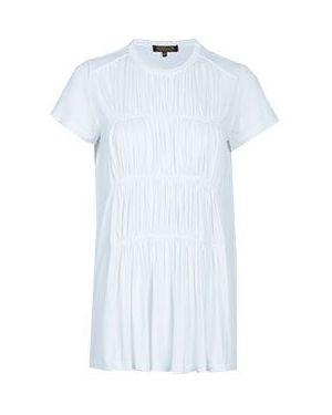 Белая блузка из вискозы Via Torriani 88