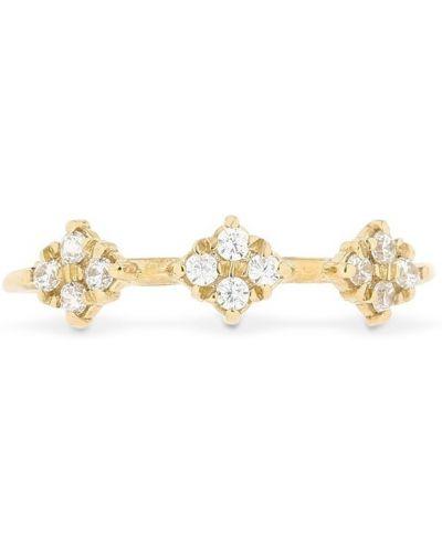 Złoty pierścionek kaskadowy Lil