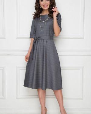 Платье с поясом классическое платье-сарафан Bellovera
