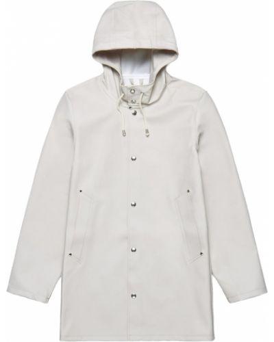 Biały płaszcz Stutterheim