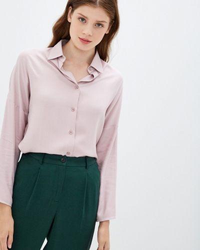 Базовая с рукавами розовая блузка Base Forms
