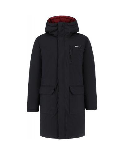 Черная пуховая куртка Demix