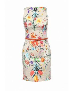 Платье весеннее бежевое Tricot Chic