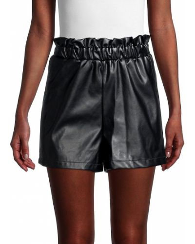 Черные кожаные шорты для плаванья с карманами Bcbgeneration