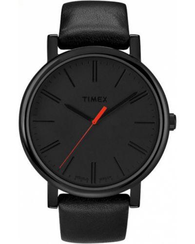 Часы водонепроницаемые универсальный черный Timex