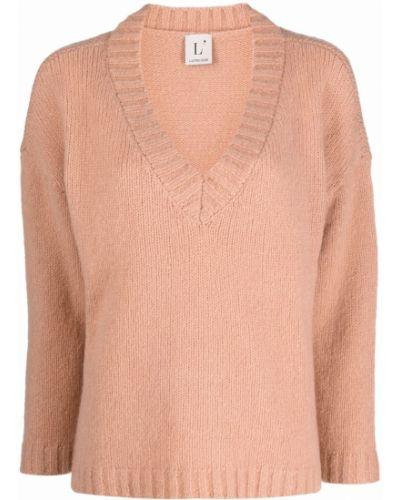 Вязаный джемпер - розовый Lautre Chose