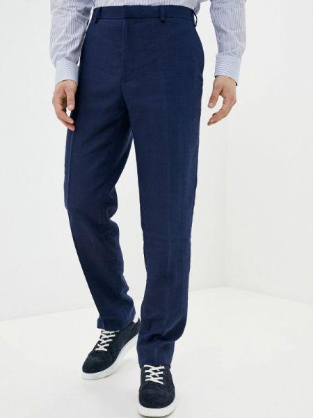 Синие классические брюки Marks & Spencer