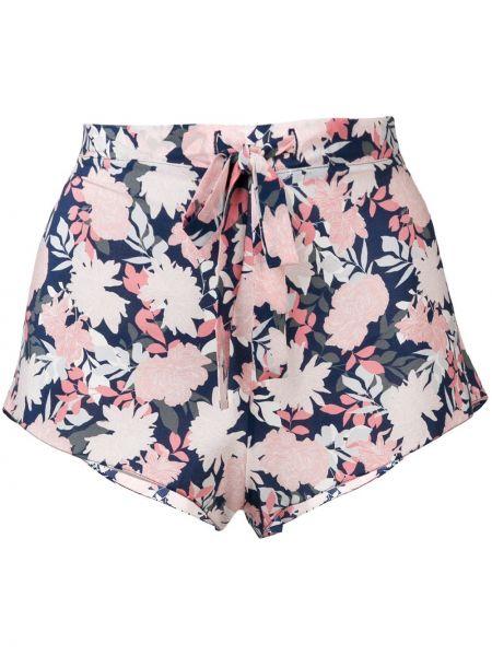 Брендовые розовые свободные шорты Gilda & Pearl