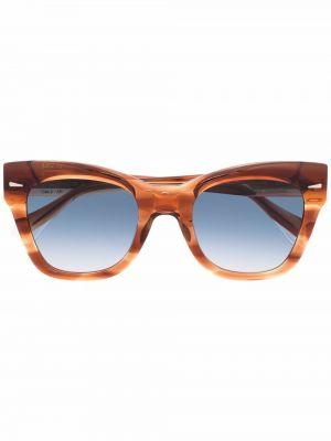 Pomarańczowe okulary Gigi Studios