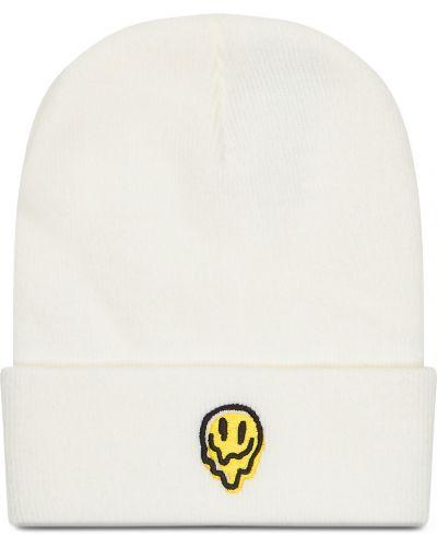 Biała czapka z akrylu Brixton