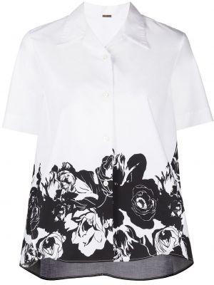 Рубашка с коротким рукавом - белая Adam Lippes