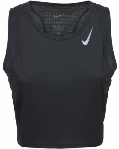 Кроп-топ - черный Nike