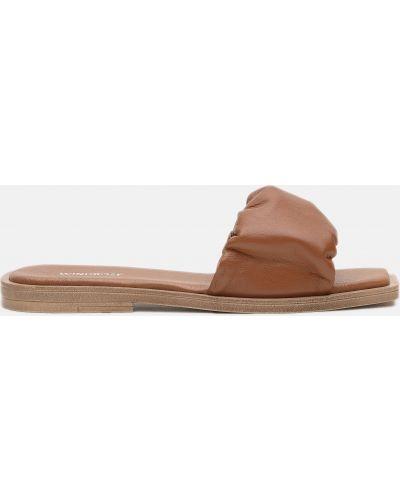 Шлепанцы - коричневые Windrose