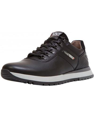 Кожаные кроссовки - черные Bumer