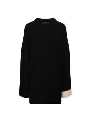 Шерстяной свитер - черный Y`s