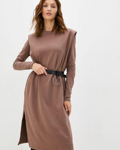 Платье - коричневое Miss Gabby