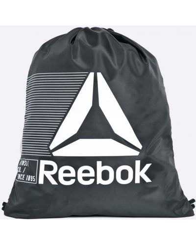 Черный рюкзак с отделениями Reebok