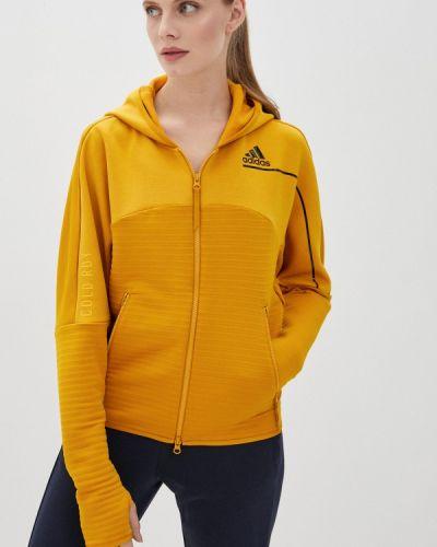Толстовка - желтая Adidas