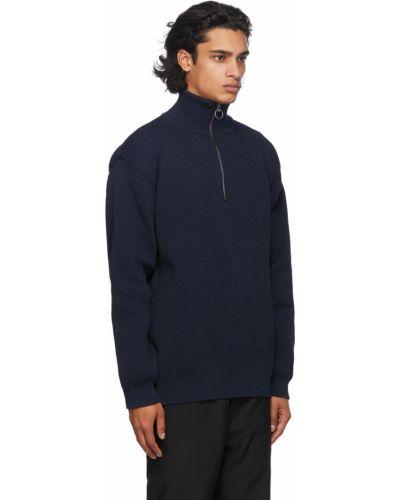 Długi sweter z długimi rękawami Nanamica