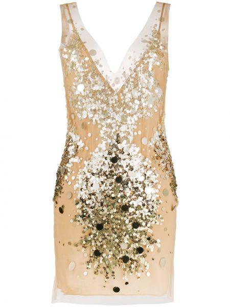 Платье с пайетками с V-образным вырезом Faith Connexion