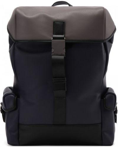 Текстильный синий рюкзак Cerruti 1881
