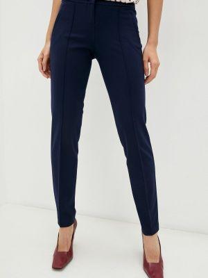 Прямые брюки - синие мадам т