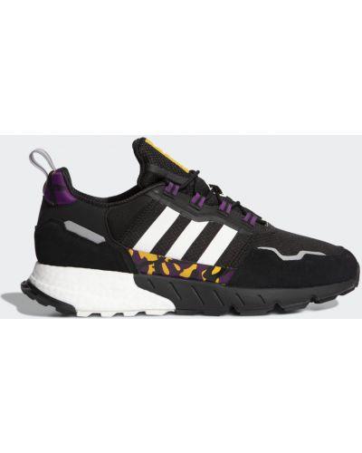 Черные зимние кроссовки Adidas