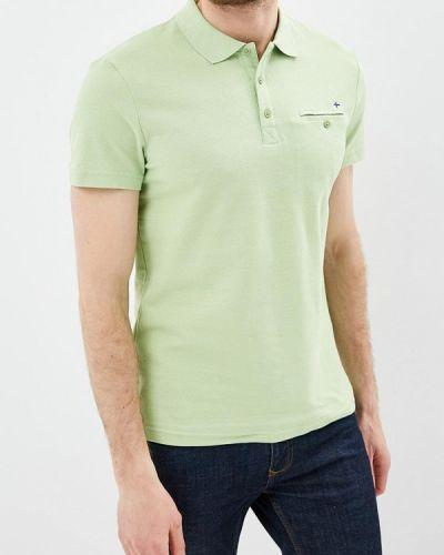 Поло зеленый Finn Flare
