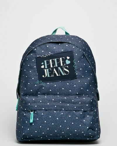 Синий рюкзак с отделениями Pepe Jeans