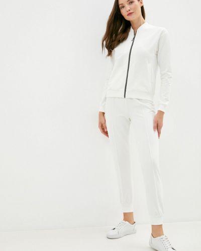 Белый костюмный брючный костюм Trendyangel