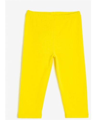 Rajstopy bawełniane - żółte Koton