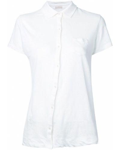 Классическая рубашка с коротким рукавом хлопковая Massimo Alba