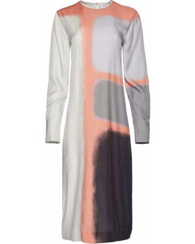 Шелковое платье - серое Equipment