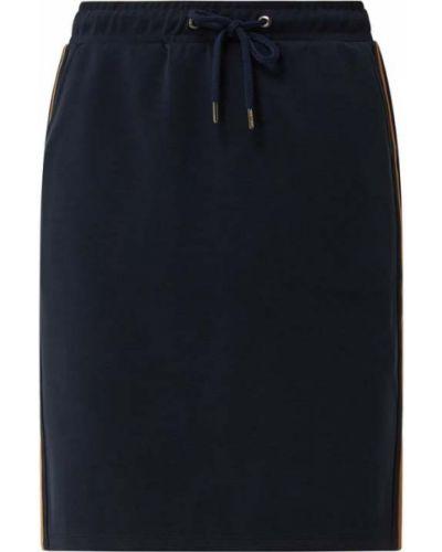 Spódnica rozkloszowana w paski - niebieska More & More