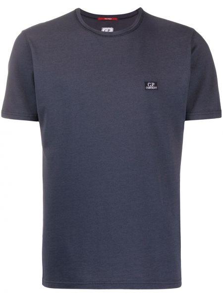 Рубашка с короткими рукавами с вышивкой с логотипом Cp Company Kids