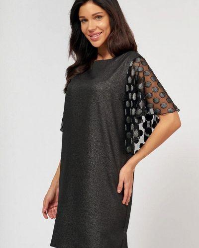 Повседневное черное платье Lussotico