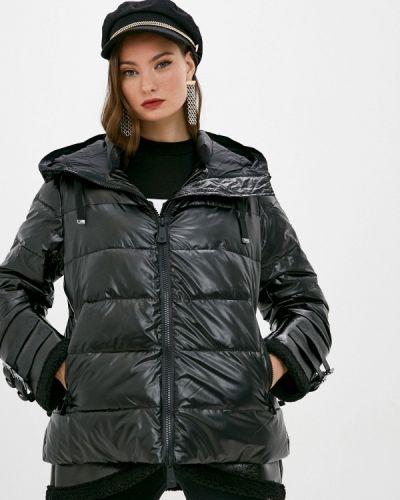 Теплая черная куртка Guess Jeans