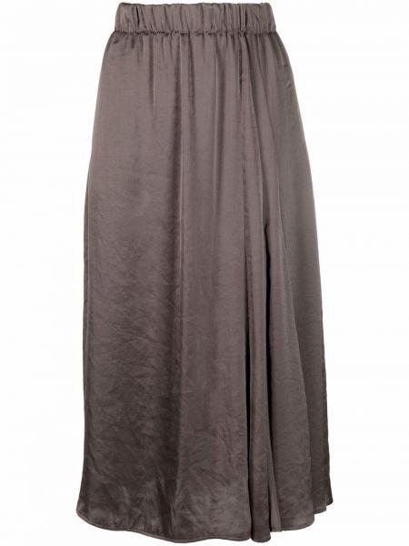 Асимметричная юбка - серая Luisa Cerano